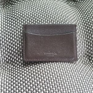 Firm - Tiffany & Co. Leather Card Holder